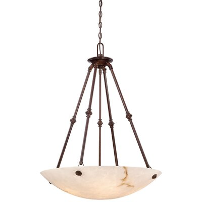 Virtuoso II 5-Light Bowl Pendant Finish: Bronze Patina