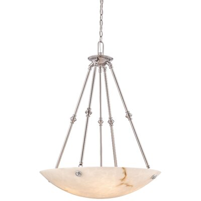 Virtuoso II 5-Light Bowl Pendant Finish: Pewter