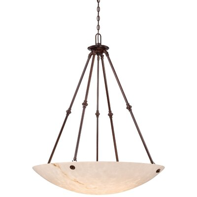 Virtuoso II 6-Light Bowl Pendant Finish: Bronze Patina