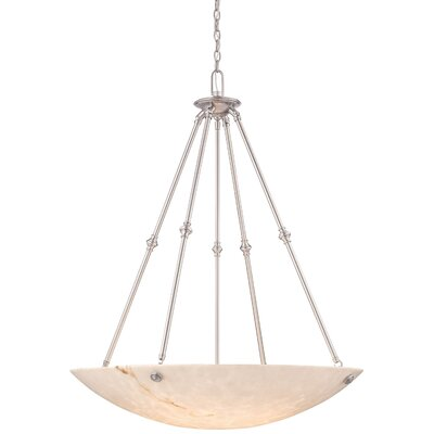 Virtuoso II 6-Light Bowl Pendant Finish: Pewter