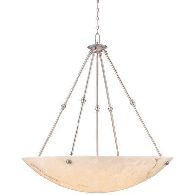Virtuoso II 8-Light Bowl Pendant Finish: Pewter