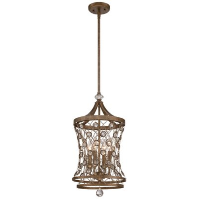 Vel Catena 4-Light Foyer Pendant