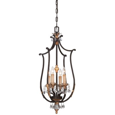 Bella Cristallo 4-Light Foyer Pendant