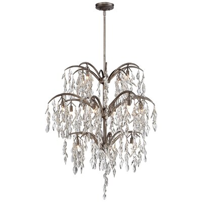 Bella Flora 16-Light Crystal Chandelier