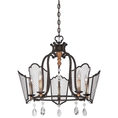 Corton 5-Light Candle-Style Chandelier
