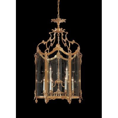 Vintage 9-Light Foyer Pendant