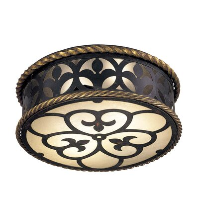 Montparnasse 2-Light Flush Mount