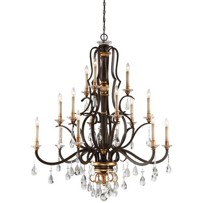 Chateau Nobles 15-Light Candle-Style Chandelier