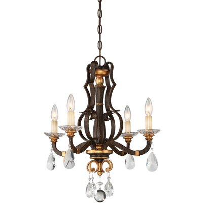 Chateau Nobles 4-Light Candle-Style Chandelier