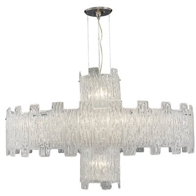 14-Light Crystal Chandelier