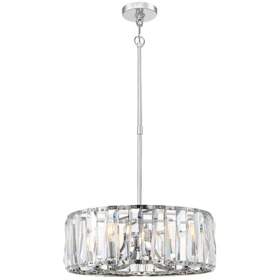 Coronette 6-Light Crystal Pendant