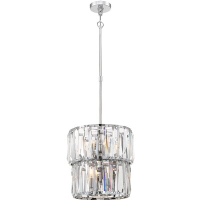 Coronette 8-Light Crystal Pendant