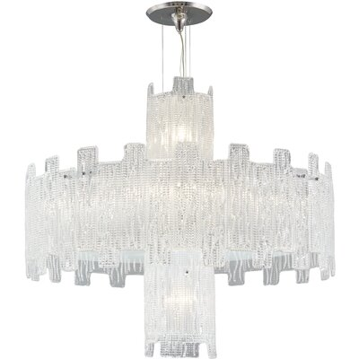 11-Light Crystal Chandelier