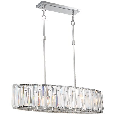 Coronette 6-Light Crystal Chandelier