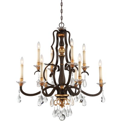 Chateau Nobles 10-Light Candle-Style Chandelier
