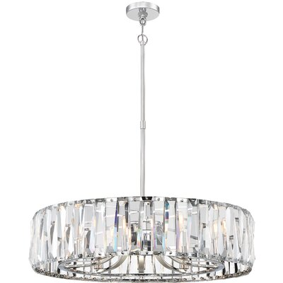Coronette 10-Light Crystal Chandelier