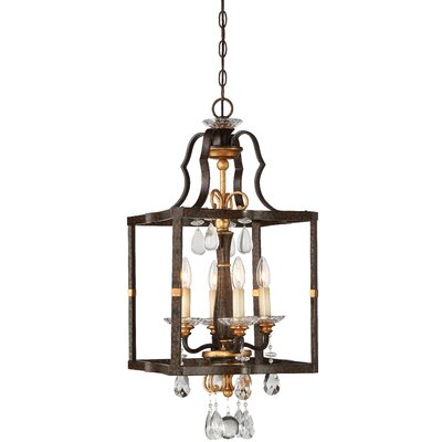 Chateau Nobles 4-Light Foyer Pendant