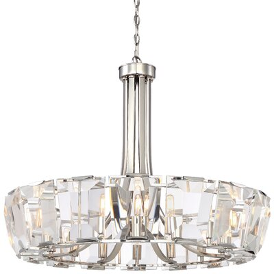 Castle Aurora 16-Light Crystal Chandelier