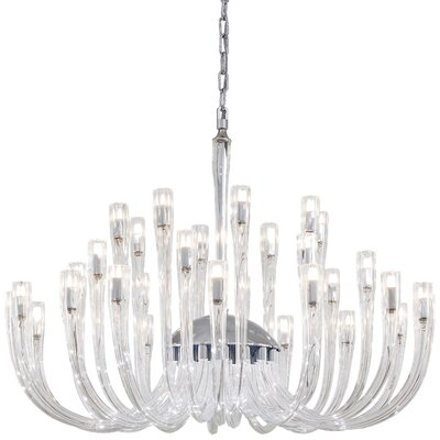 32-Light Candle-Style Chandelier