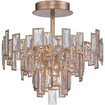 Bel Mondo 5-Light Semi Flush Mount