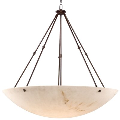 Virtuoso II 12-Light Bowl Pendant Finish: Bronze Patina