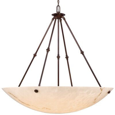 Virtuoso II 8-Light Bowl Pendant Finish: Bronze Patina