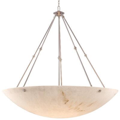Virtuoso II 12-Light Bowl Pendant Finish: Pewter