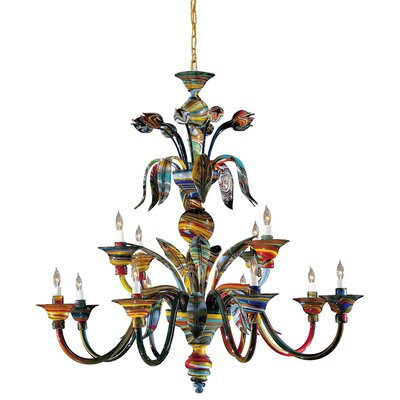 Camer 12-Light Candle-Style Chandelier
