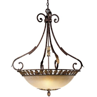 Zaragoza 5-Light Bowl Pendant
