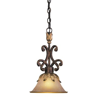 Zaragoza 1-Light Invert Pendant
