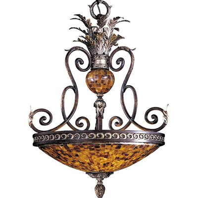Salamanca 3-Light Bowl Pendant