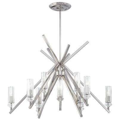 Fusano 12-Light Candle-Style Chandelier