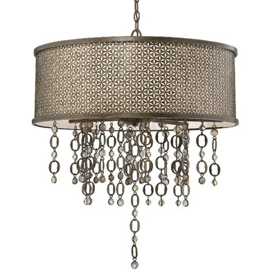 Ajourer 8-Light Drum Pendant