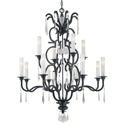 Castellina 12-Light Crystal Chandelier