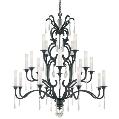 Castellina 20-Light Crystal Chandelier