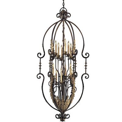 Metropolitan 12-Light Foyer Pendant