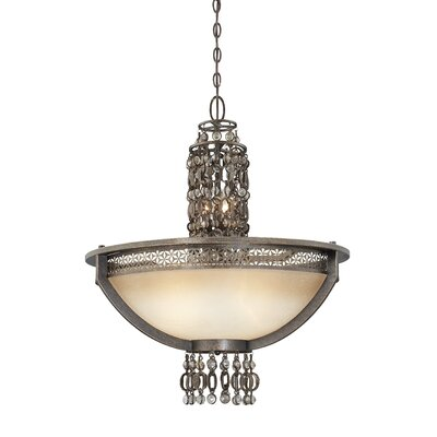 Ajourer 6-Light Bowl Pendant