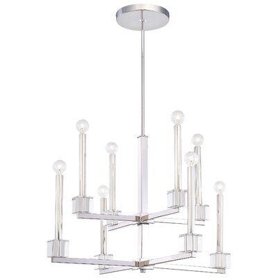 Chadbourne 8-Light Candle-Style Chandelier
