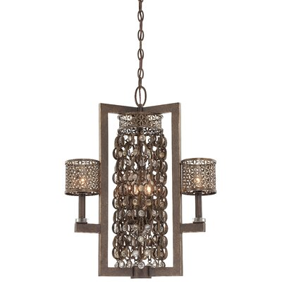 Ajourer 6-Light Drum Chandelier
