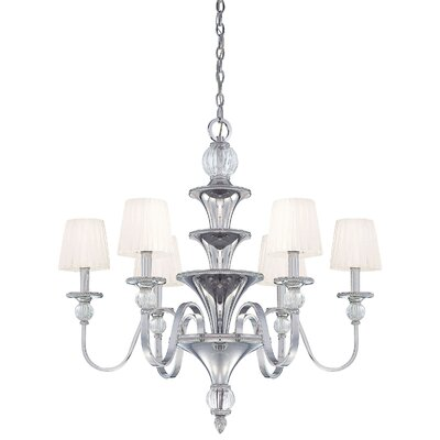 Aise 6-Light Shaded Chandelier