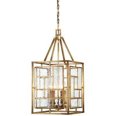 Edgemont Park 4-Light Foyer Pendant Size: 30 H x 14 W x 14 Ext.