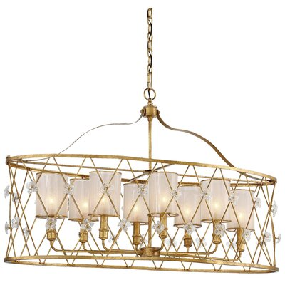 Victoria Park 8-Light Kitchen Island Pendant