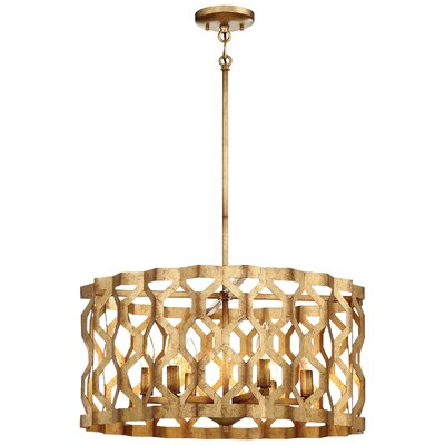 Coronade 5-Light Drum Pendant