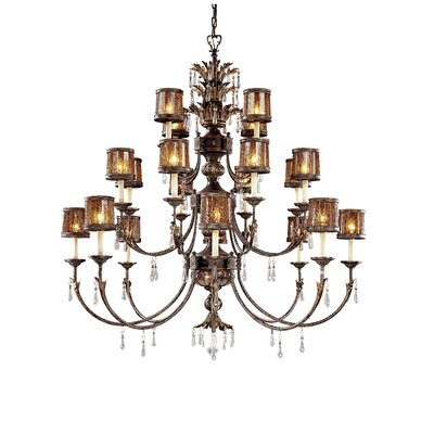Sanguesa 22-Light Candle-Style Chandelier