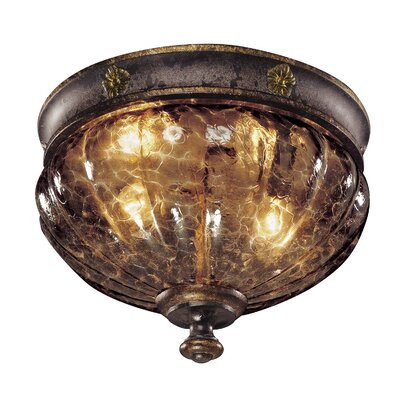 Sanguesa 2-Light Flush Mount