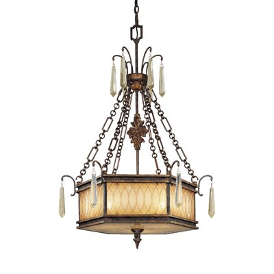 Terraza Villa Foyer Pendant Size: 3 Light