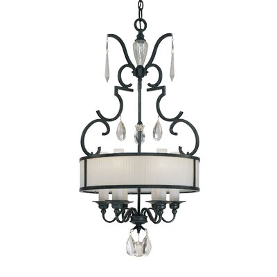 Castellina 6-Light Drum Pendant
