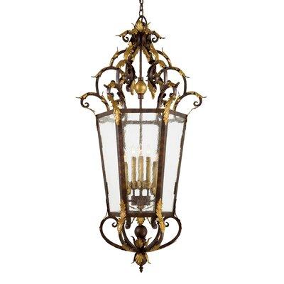 Zaragoza 8-Light Foyer Pendant