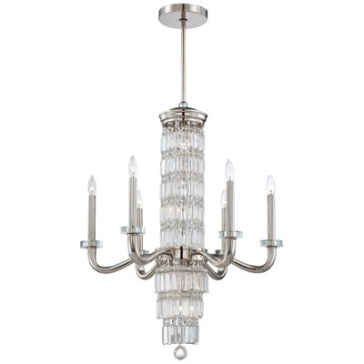 Crysalyn Falls 12-Light Crystal Chandelier