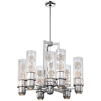 Bella Fiori 7-Light Shaded Chandelier